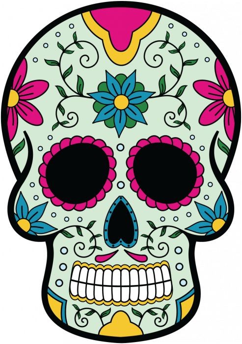 calavera tete de mort mexicaine 9 mpa d co t te de mort pinterest stickers. Black Bedroom Furniture Sets. Home Design Ideas