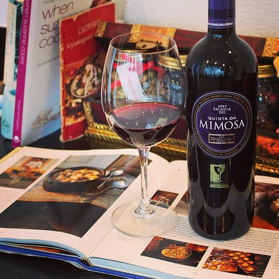 Quinta da Mimosa and Cooking Books - Great Combination for a Lazy Sunday Afternoon
