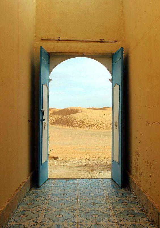 Portas para o deserto :)