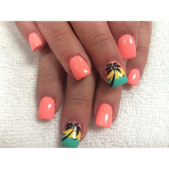 """Beach baby "" Photo taken by @professionalnailss on Instagram, pinned via the InstaPin iOS App! http://www.instapinapp.com (03/18/2015)"