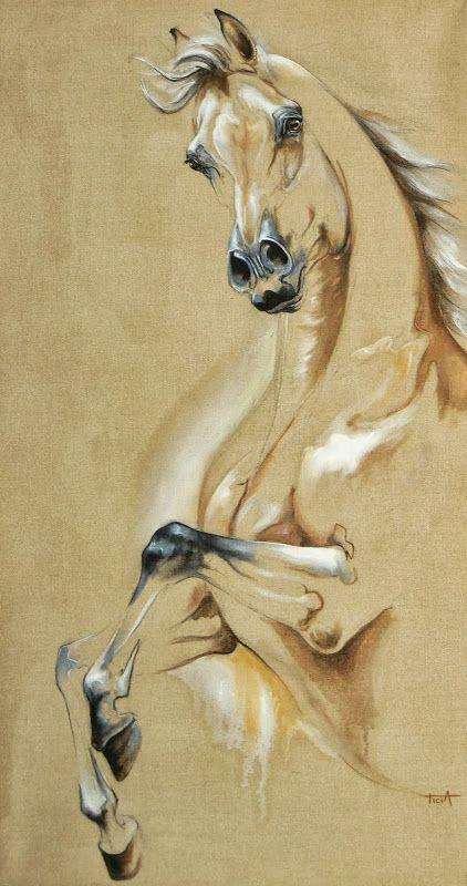 Artist Laetitia Plinguet Pinturas De Caballos Pinturas Caballos