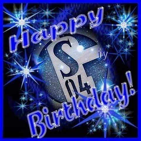 Pin Von M F Auf Schalke 04 Schalke Fussball Geburtstag Schalke04