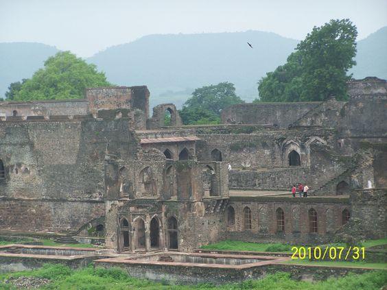 The Castel, in Mandu City, India