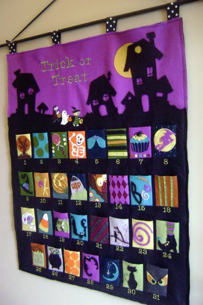 DIY Halloween Advent Calendar