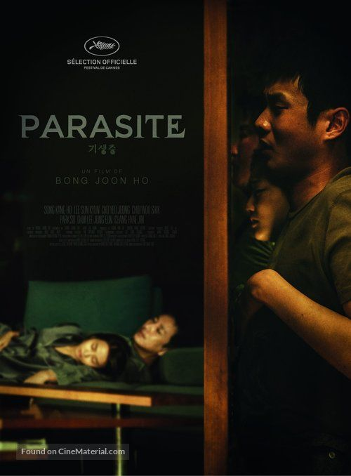 Parasite French movie poster