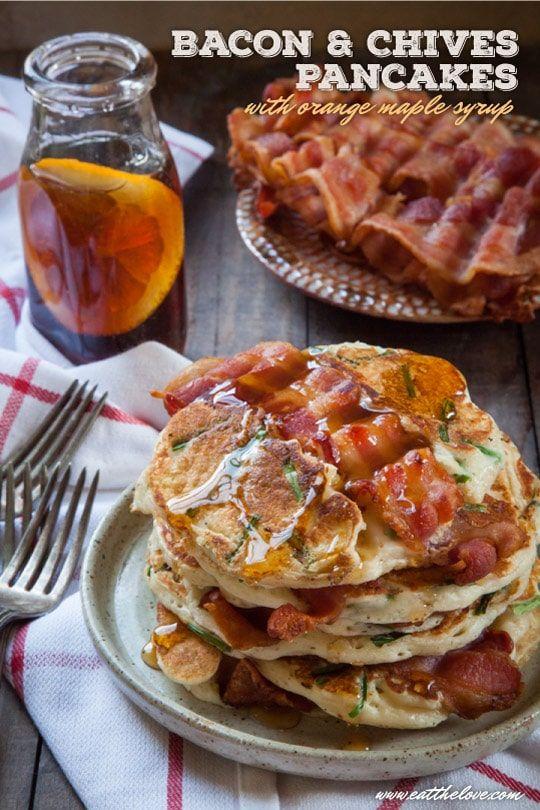 Bacon Pancakes Bacon Pancakes Recipe Eat The Love Recipe Pancakes And Bacon Bacon Bacon Pancake Recipe