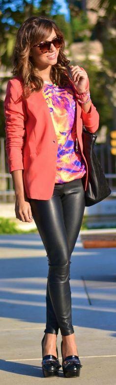 #leather #leggings
