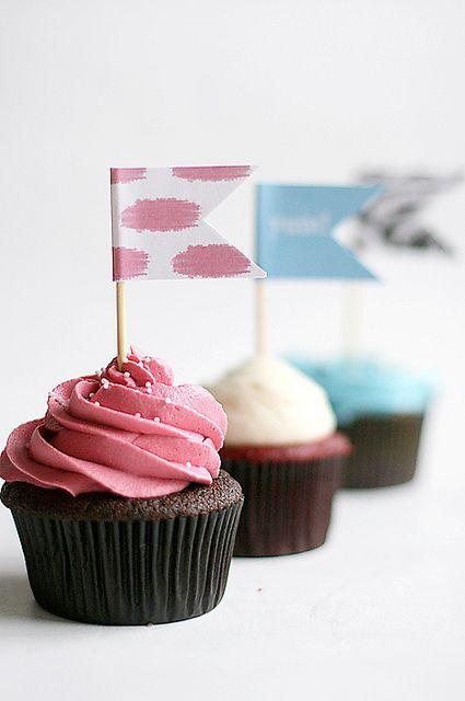 cupcakes fácil de decorar!