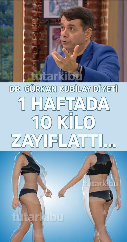 Gurkan Kubilayin Mucizevi Diyet Listesi 1 Haftada 10 Kilo In