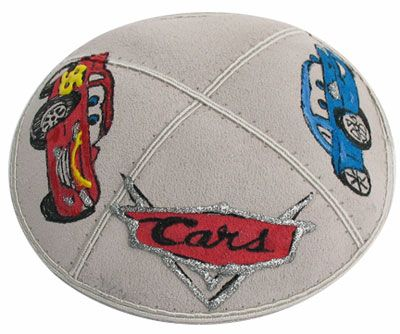 Disney and Moview Character Kippahs for Children of all ages.