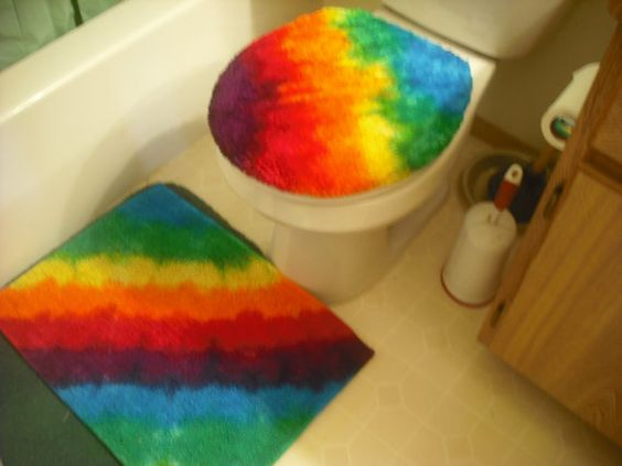 Toilets Ties And Seat Covers On Pinterest