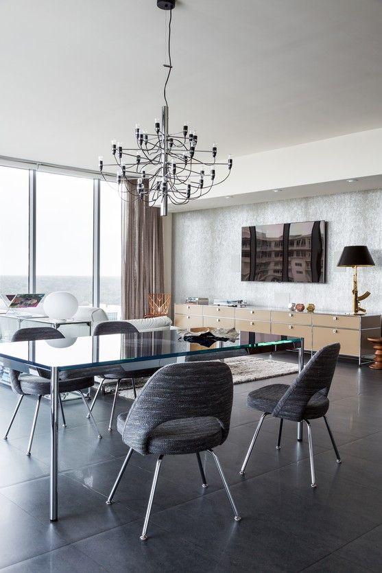 Knoll Chaise Saarinen Executive Burotrend Luxembourg Deco Maison Mobilier Modulaire Meuble Moderne