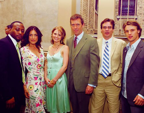 Dr. House cast Coffee and TV Pinterest Originals and