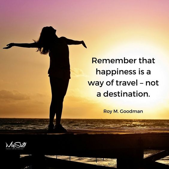 Because sometimes the journeys are more important than the destinations!