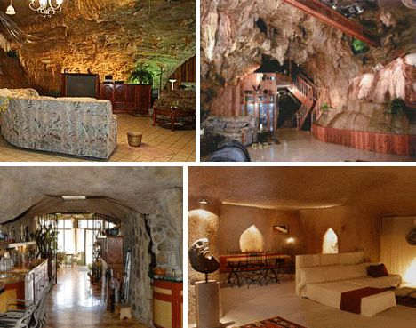 Underground Cave Home. Cave House  Bisbee AZ Saw this on HGTV s Home Strange LOVE IT W o N D e R L a d Pinterest and Spaces