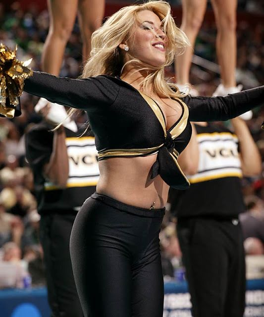 VCU cheerleader   Cheerleaders College   Pinterest   Game ...