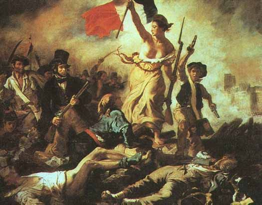 Liberty leading the People - The French Revolution