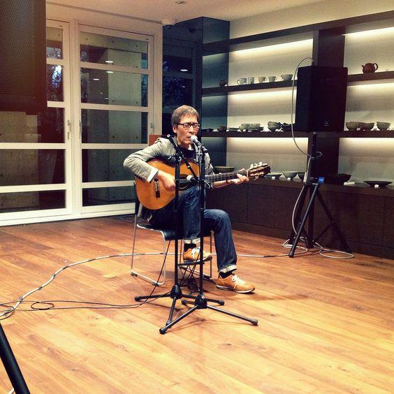 Yoshiro Nakamura mini live in Tokyo