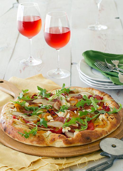 main-course-recipe-Chorizo-and-Goats-Cheese-Flatbread