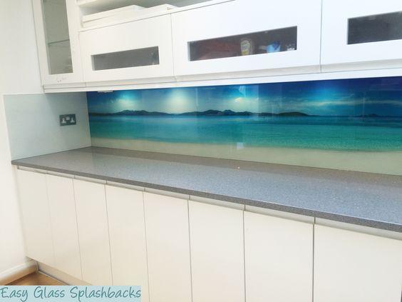 Details zu Spritzschutz Herd Küchenrückwand Fliesenspiegel - wandpaneele küche glas