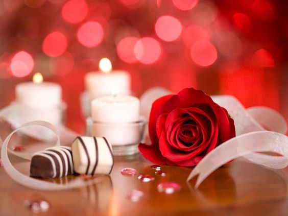 Romantic night at home