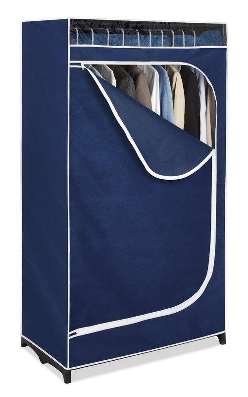 Atticus 35 8 W Wardrobe In 2020 Portable Closet Portable Wardrobe Wardrobe Closet