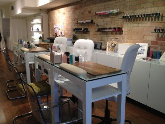 Stephanie Fusco  Get Gelled  Yonge Wellesley Nail Bar Interior
