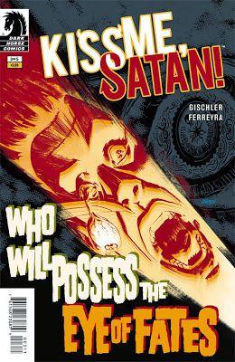 Comic Review: Kiss Me, Satan #3 | I Smell Sheep
