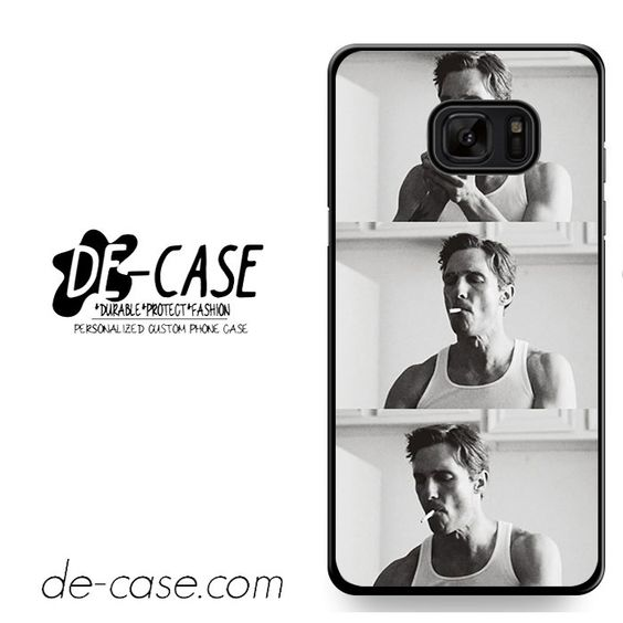Smooking Rustin Cohle True Detective DEAL-9736 Samsung Phonecase Cover For Samsung Galaxy Note 7
