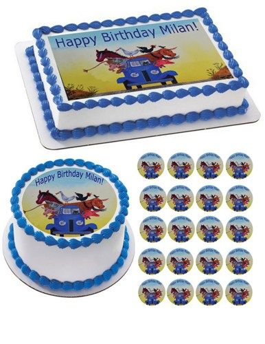 Edible Cake Images Instructions : It is, Birthday cakes and Trucks on Pinterest