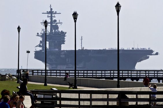 Norfolk photos and naval station norfolk on pinterest for Fishing in norfolk va