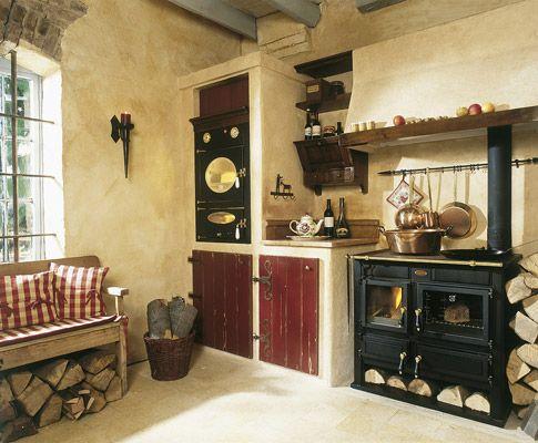 British Stoves Maidstone Landhausküche - Handgebaute englische - küche im landhausstil
