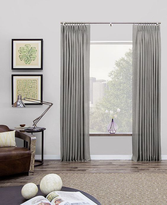 Tailored Pleat Drapery | Tailored Curtains | The Shade Store