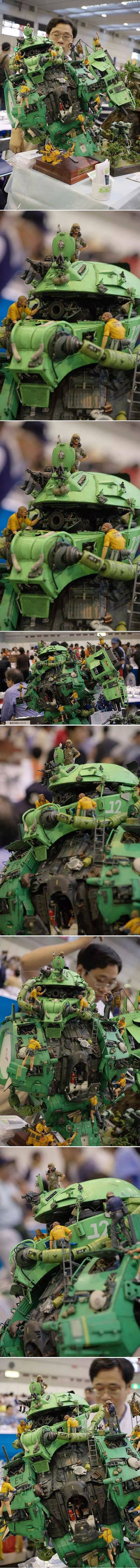1/24 Zaku 2 Mechanics full Scrath