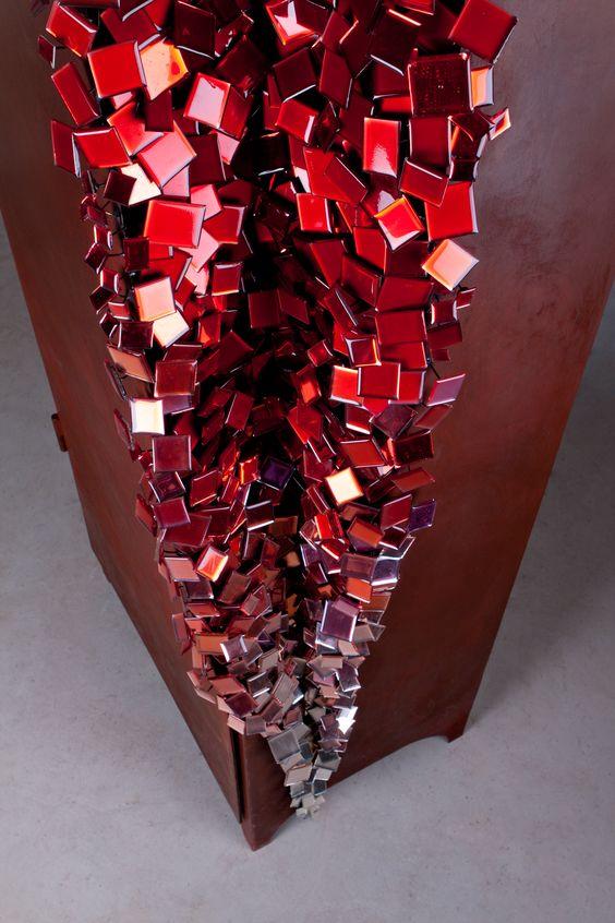 by Valerie Boy COUP DE GRIFFE (closet sculpture)