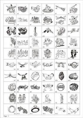 Hindu Wedding Card Logo Free Download In 2020 Hindu Wedding Cards Wedding Symbols Wedding Card Design