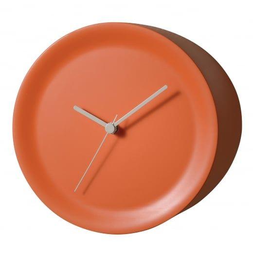 Alessi Ora Out Edge Mounted Orange Wall Clock GIA21 O