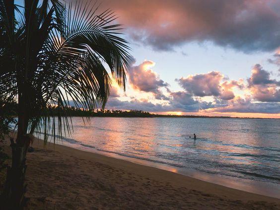 Caribbean Sunset, Vacia Telaga Beach, Pinones Nature Preserve, Puerto Rico | View Puerto Rico Package Deals!