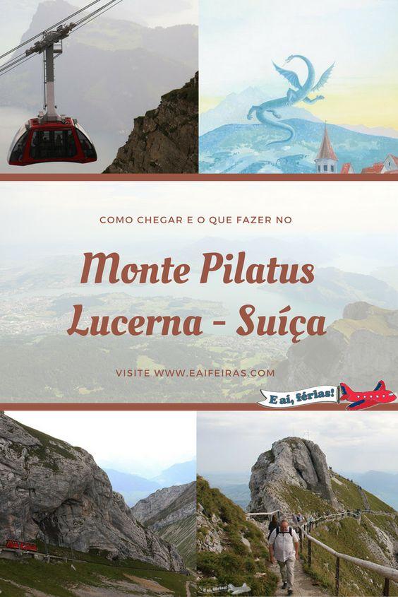 Tudo sobre nossa visita ao Monte Pilatus