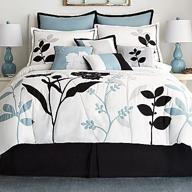 Shadow Leaf 10 piece forter Set jcpenney