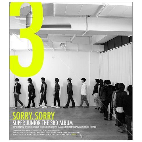 SUPER JUNIOR – SORRY, SORRY – The 3th Album