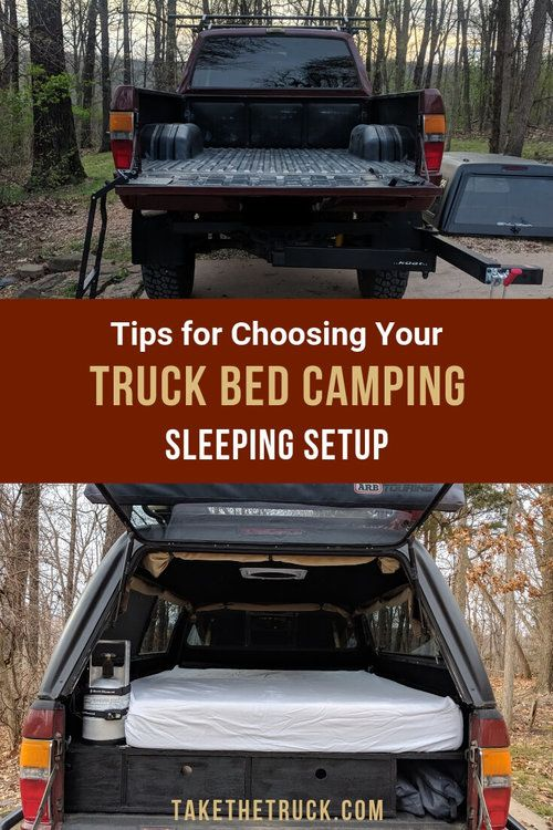 A Guide To Sleeping Platforms For Truck Shell Camping Truck
