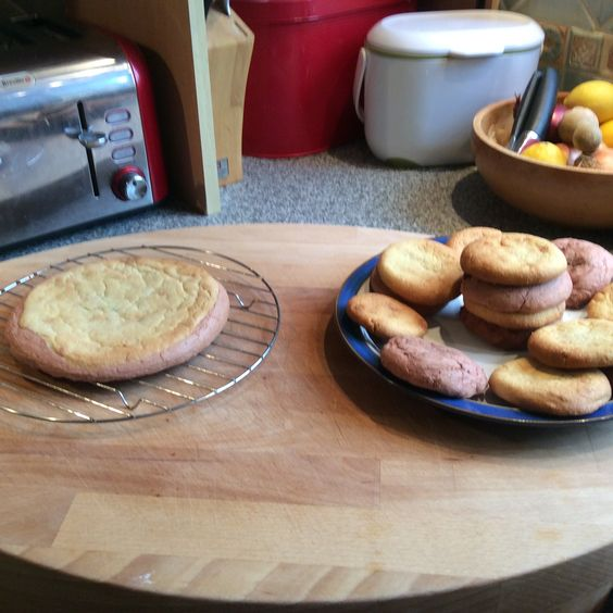 Orange and white chocolate cookies and nutella stuffed red velvet cookies - all homemade and delicious!!