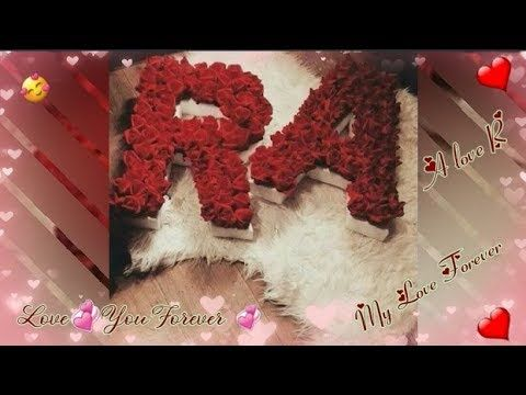 Whatsapp Status Letter A And R Love Status Letter R And A Hua Hai
