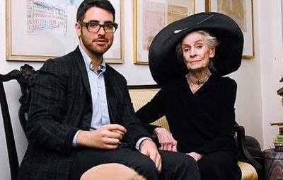 Ari Seth Cohen w. grandmother