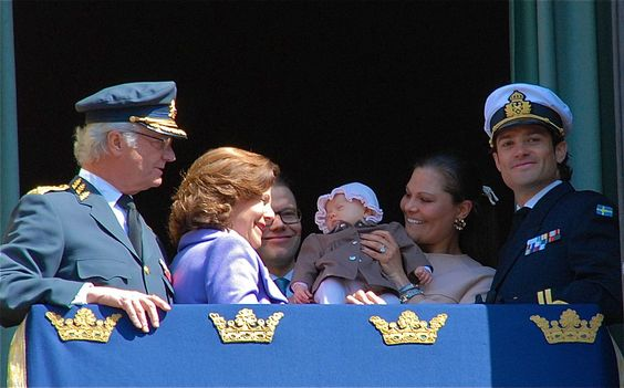 the Swedish Royal Family in 2012.