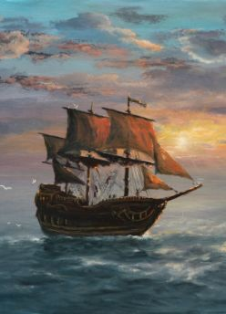 1700 Pirate Ships | Historic ship off the Outer Banks ...