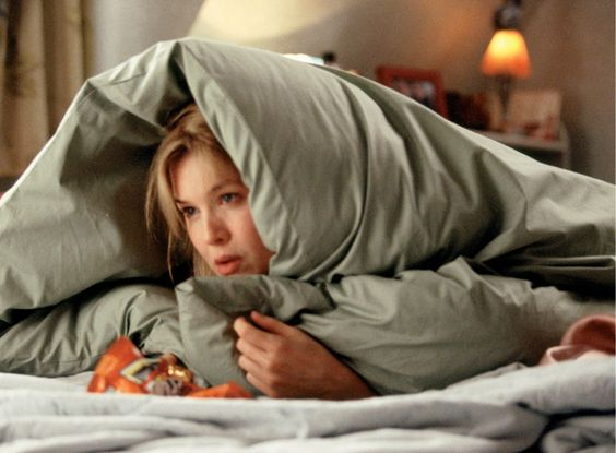 Bridget Jones's Diary // Renee Zellweger as Bridget Jones // Colin Firth as Mark Darcy