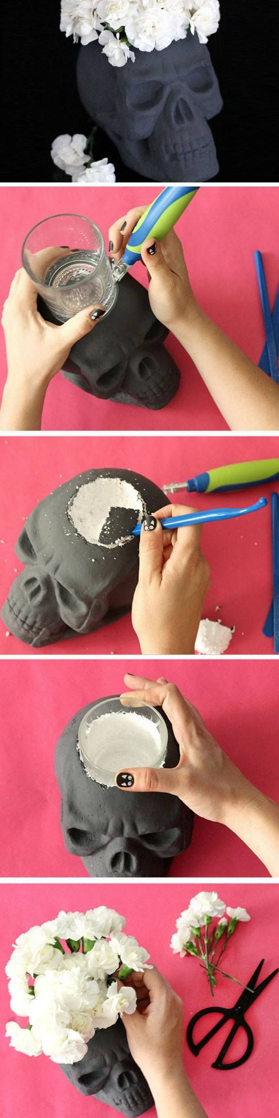 17 Best images about decoração on Pinterest Crafts, Easy diy and Vase - Homemade Halloween Decorations Pinterest