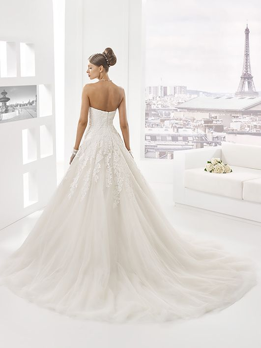 Collection Pronuptia, Robe Empire, Robe De Mariée, Robes De, Mariée Bustier, Mariage 2017, Mariage Robes, Modèle Fluorine, Robe